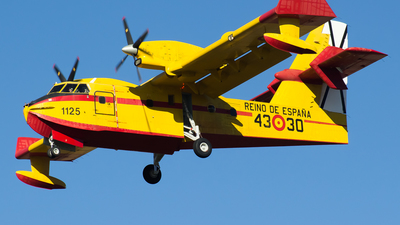 UD.13-30 - Canadair CL-215T - Spain - Air Force