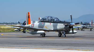 6608 - Raytheon T-6C Texan II - Mexico - Air Force
