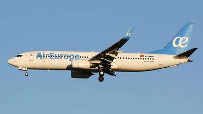 A picture of ECMPG - Boeing 73785P - Air Europa - © Simone Previdi