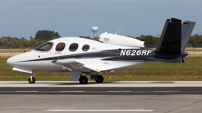 N626RF - Cirrus Vision SF50 G2 - Private