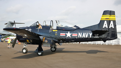 NX228TS - North American T-28B Trojan - Private