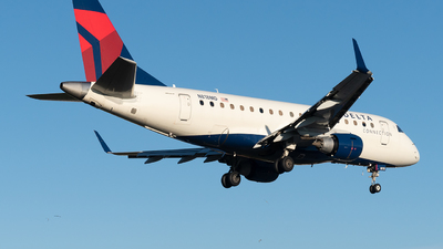 A picture of N818MD - Embraer E170SU - Delta Air Lines - © Luis Bastardo