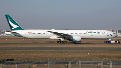 B-KPE - Boeing 777-367ER - Cathay Pacific Airways