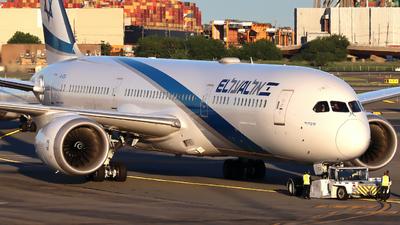 A picture of 4XEDA - Boeing 7879 Dreamliner - El Al - © Xiamen Air 849 Heavy