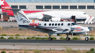 EC-ILE - Beechcraft B200 Super King Air - Inaer
