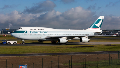 B-HUG - Boeing 747-467 - Cathay Pacific Airways
