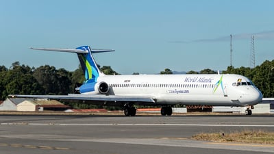 N807WA - McDonnell Douglas MD-83 - World Atlantic Airlines