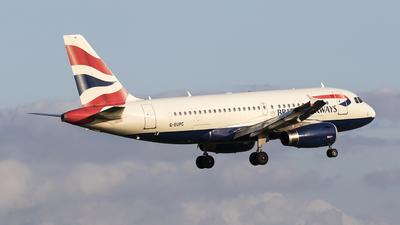 A picture of GEUPC - Airbus A319131 - British Airways - © Federico Villadei