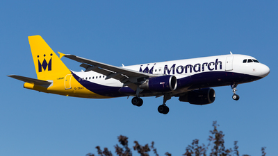 G-ZBAU - Airbus A320-214 - Monarch Airlines