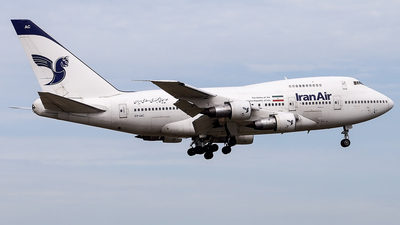 EP-IAC - Boeing 747SP-86 - Iran Air