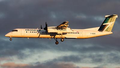 A picture of CGEWR - De Havilland Canada Dash 8400 - WestJet - © Leige Yang