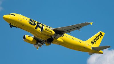 N608NK - Airbus A320-232 - Spirit Airlines