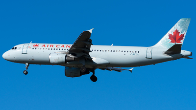 A picture of CFKCK - Airbus A320211 - [0265] - © CYVR Zhourong Yin