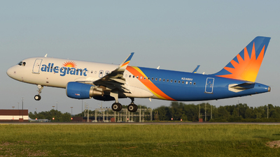 A picture of N248NV - Airbus A320214 - Allegiant Air - © DJ Reed - OPShots Photo Team
