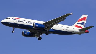 G-EUYD - Airbus A320-232 - British Airways