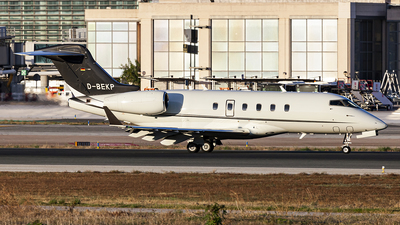 A picture of DBEKP - Bombardier Challenger 300 -  - © Manuel Llama - Benalmadena Spotters