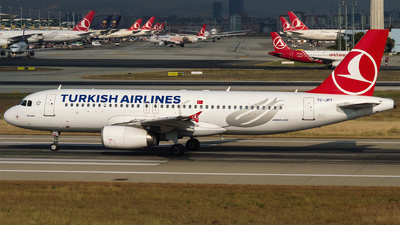 TC-JPT - Airbus A320-232 - Turkish Airlines