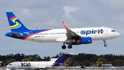 N635NK - Airbus A320-232 - Spirit Airlines