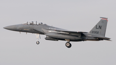01-2002 - Boeing F-15E Strike Eagle - United States - US Air Force (USAF)