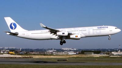 OO-SCZ - Airbus A340-311 - Sabena