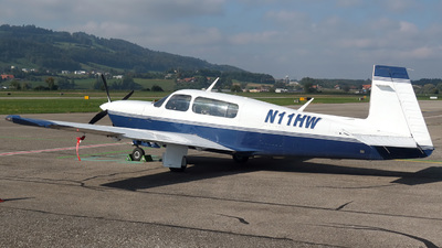 N11HW - Mooney M20M - Private