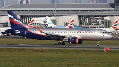 A picture of VQBTW - Airbus A320214 - Aeroflot - © Rafal Pruszkowski