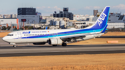 A picture of JA53AN - Boeing 737881 - All Nippon Airways - © LUSU