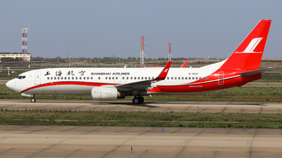 A picture of B5831 - Boeing 73786D - Shanghai Airlines - © Charlie-Aviationphotography