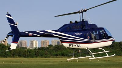 PT-YAL - Bell 206B-3 JetRanger III - Private