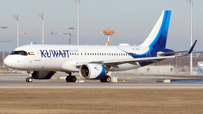 9K-AKM - Airbus A320-251N - Kuwait Airways