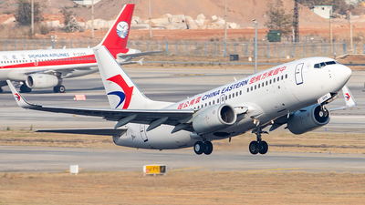A picture of B5815 - Boeing 73779P - China Eastern Airlines - © Yan Shuai
