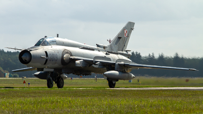 3819 - Sukhoi Su-22M4 Fitter K - Poland - Air Force