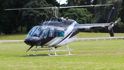 ZK-IIK - Bell 206B JetRanger II - Aviation Training