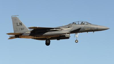 91-0317 - McDonnell Douglas F-15E Strike Eagle - United States - US Air Force (USAF)