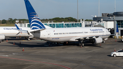 A picture of HP1730CMP - Boeing 7378V3 - Copa Airlines - © Cristian Quijano