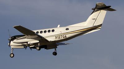 A picture of N127GA - Beech 200 Super King Air - [BB312] - © Jeremy D. Dando