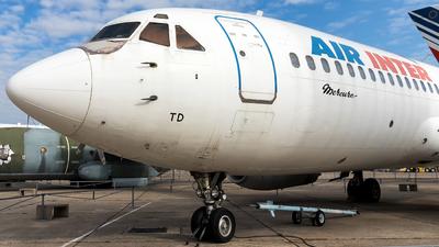 F-BTTD - Dassault Mercure 100 - Air Inter
