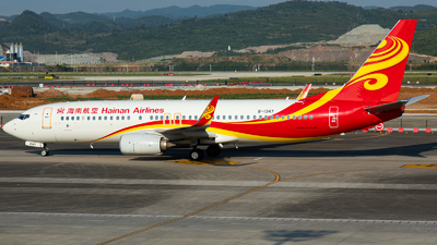 A picture of B1347 - Boeing 73786N - Hainan Airlines - © LingFeng