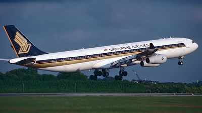 9V-SJC - Airbus A340-313X - Singapore Airlines
