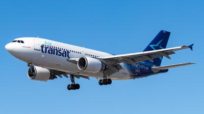C Glat Airbus A310 308 Air Transat Joost Alexander Jetphotos