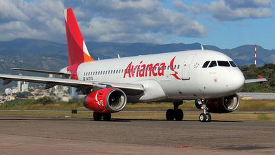 N479TA - Airbus A319-132 - Avianca