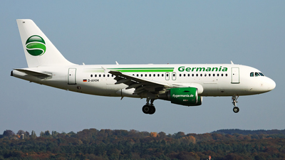 D-AHIM - Airbus A319-112 - Germania