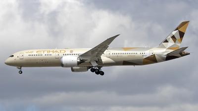 A6-BLX - Boeing 787-9 Dreamliner - Etihad Airways