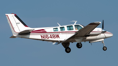 N1648W - Beechcraft 56TC Baron - Private