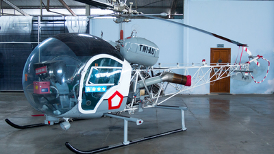 H-4711 - Bell 47G - Indonesia - Air Force
