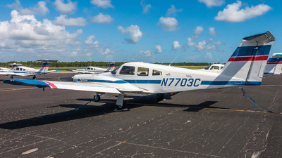 A picture of N7703C - Piper PA44180 Seminole - Skyborne Airline Academy - © valiii