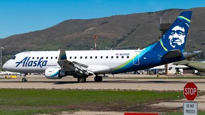 N643QX - Embraer 170-200LR - Alaska Airlines (Horizon Air)