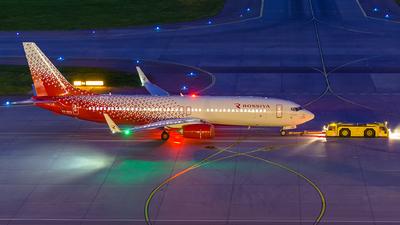 A picture of VQBVU - Boeing 7378LJ - Rossiya - © Gleb Borzyakov