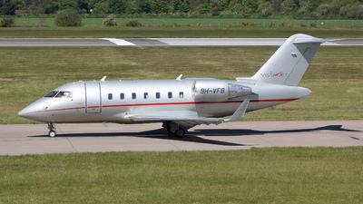 9H-VFB - Bombardier CL-600-2B16 Challenger 605 - VistaJet