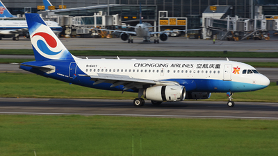 B-6407 - Airbus A319-132 - Chongqing Airlines